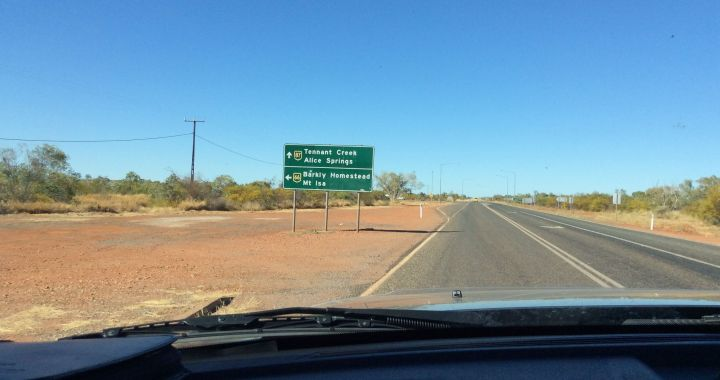 Stuart Highway, Three Ways