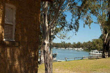 Morgue on the Murray at Morgan, SA
