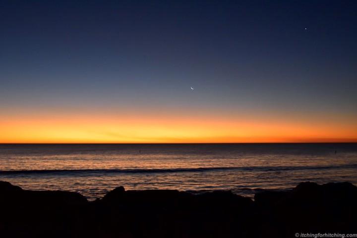 Sunset Port Denison, WA