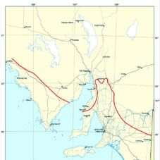 Goyder Line map