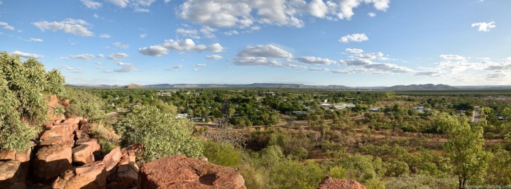 Kununurra from Kelly's Knob