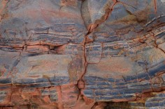 Rock face, Karijini