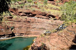 Fortescue Falls, Karijini