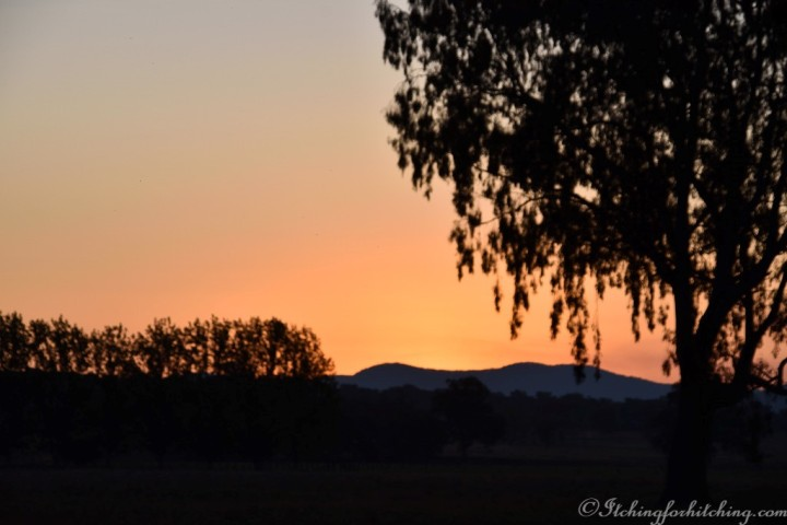 Sunset Corryong