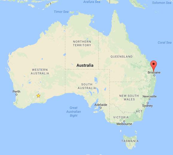 Maleny Map