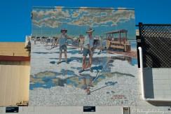 Salt Worker mural