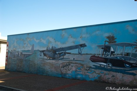 Catalina Flying Boat mural