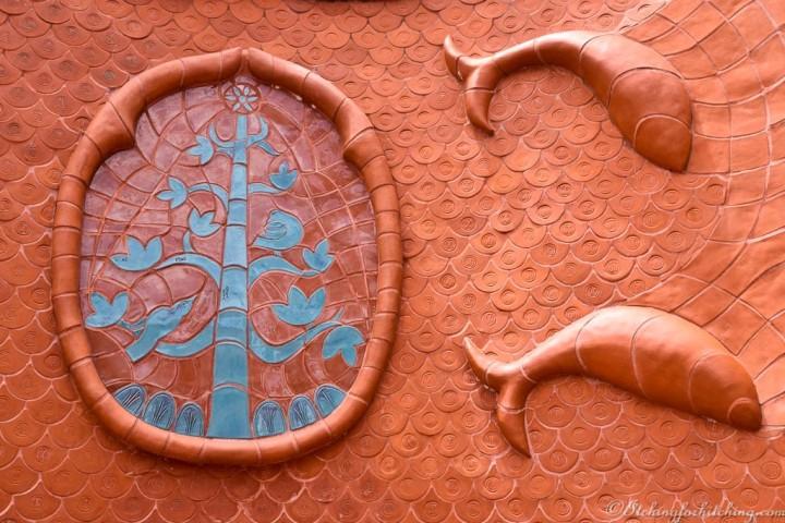 Benalla Ceramic Mural