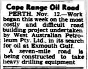 Cape Range Road The Advertiser