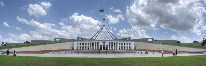 Parliament_House_Canberra by Ryan Wick