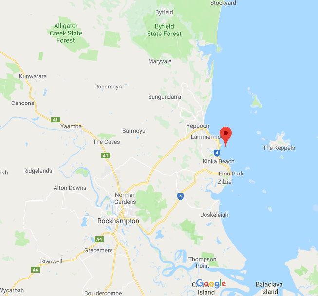 Capricorn Coast Map