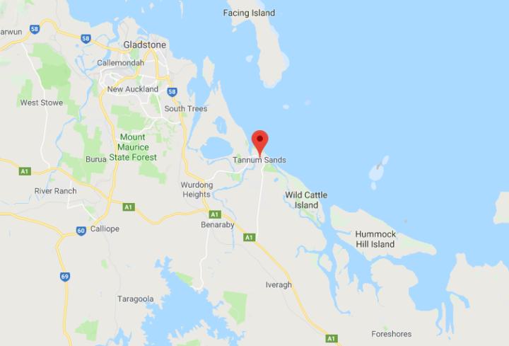 Tannum Sands Map