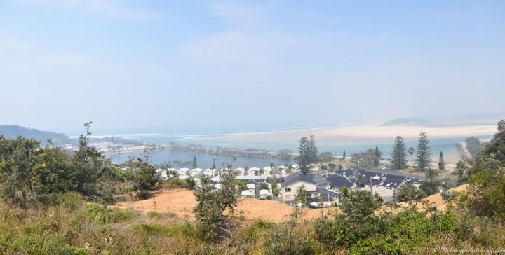 Panorama Nambucca smoke