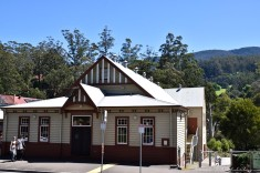 Now that's a good country hall, Warburton, Vic