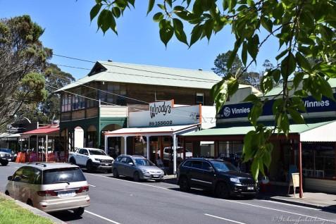 The main street, Warburton, Vic