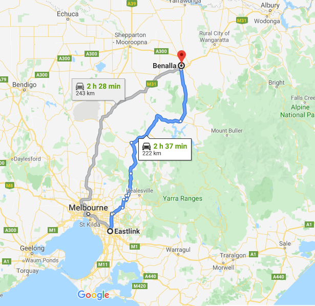 B300 Route
